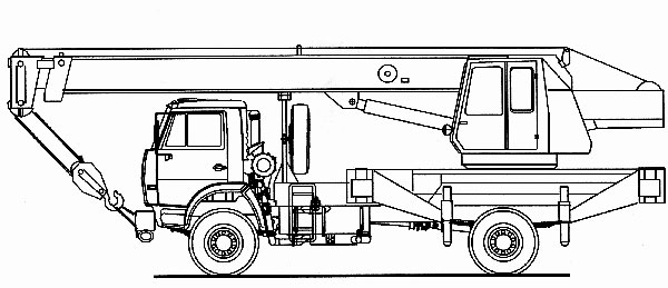 Кран автомобильный КС-3577-3К
